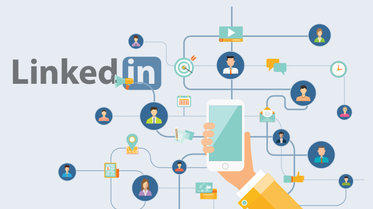 LinkedIn, the go-to social network for talent recruiters.